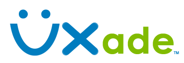 UXade User Experience Consulting Logo